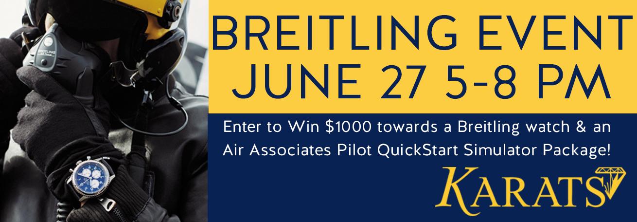 Breitling Event Updates