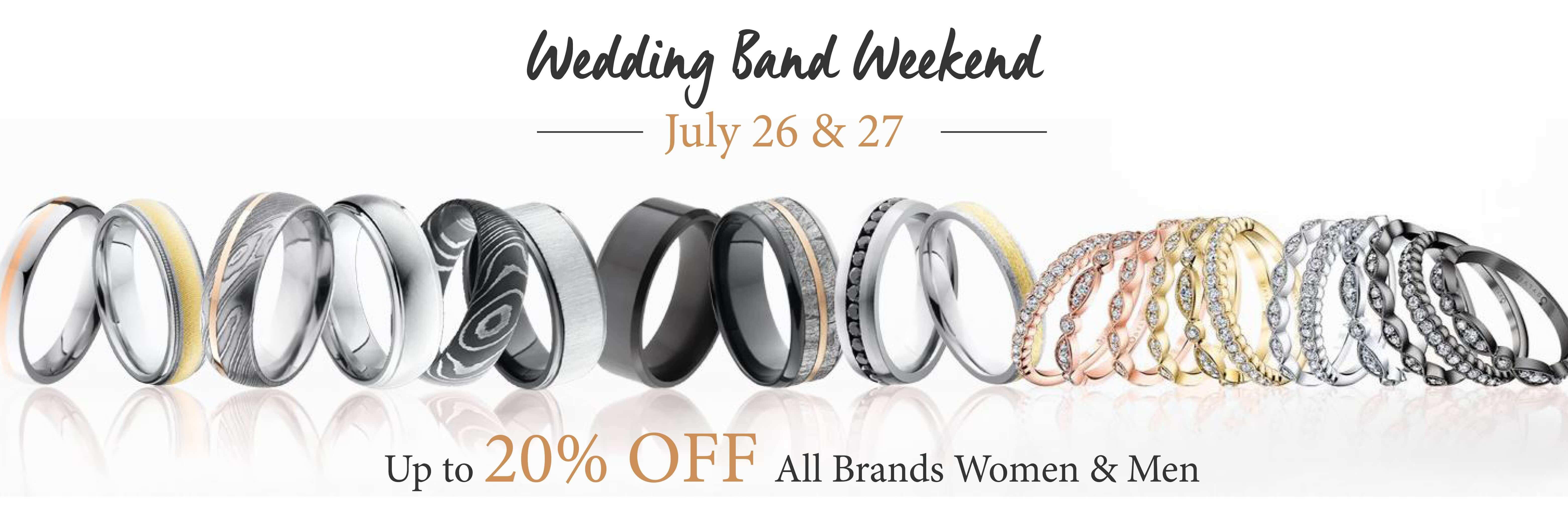 Wedding Band Weekend banner
